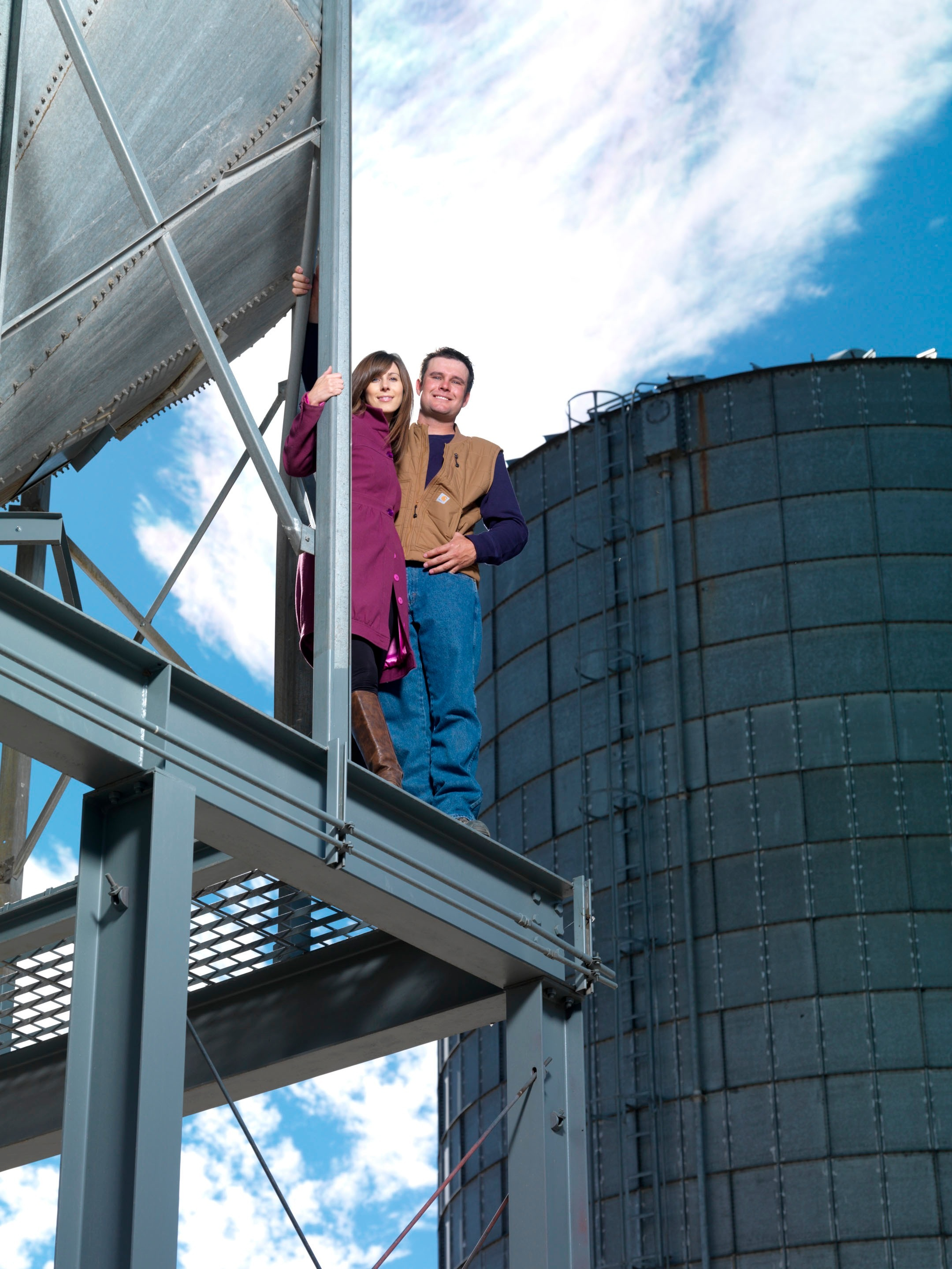 Ashley and Colby Frey, Frey Winery