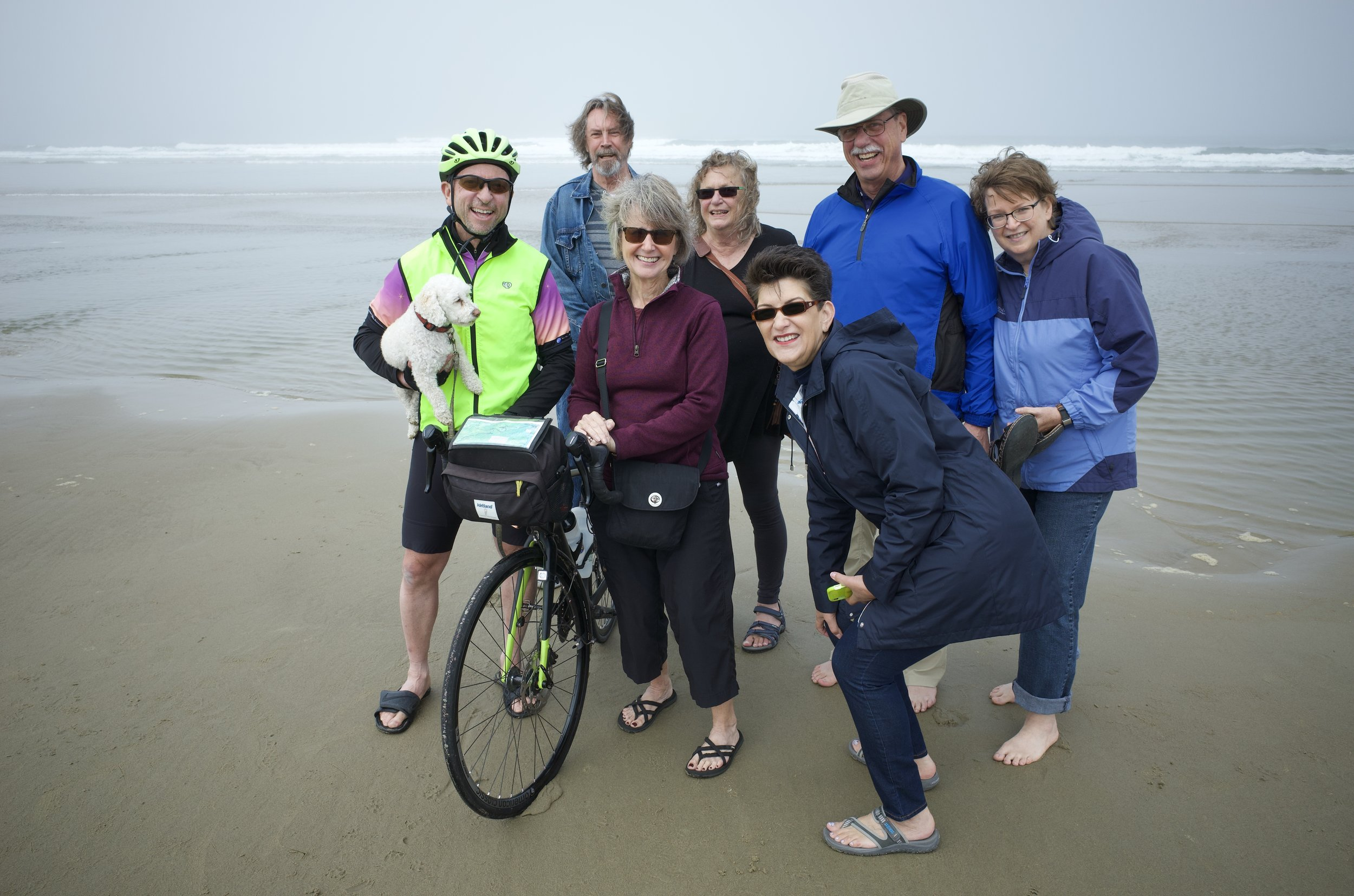The Florence OR celebratory group - missing Ron Brooks, Sharon Holland, and Carol and Rad Hatch