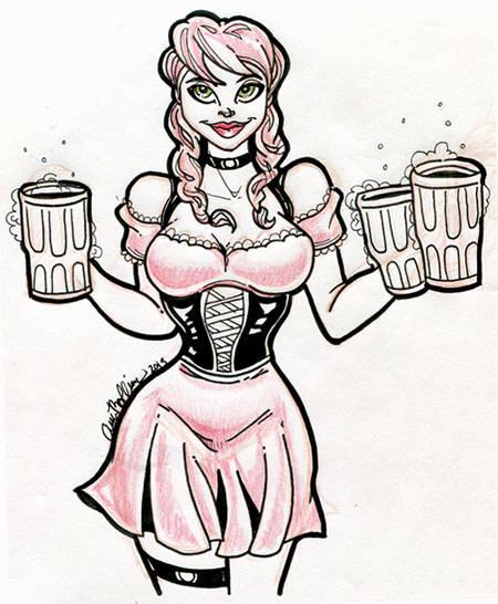 OktoberfestBarmaid_penSketch.jpg