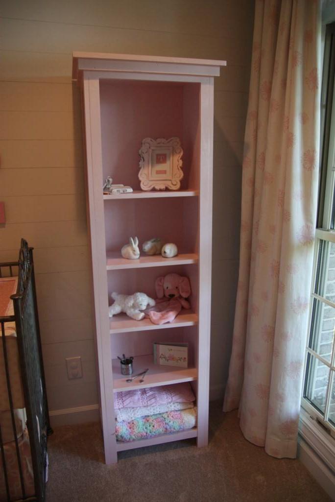 right bookshelf