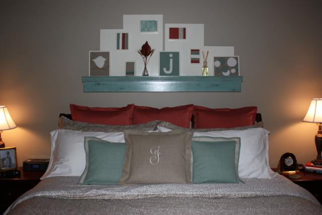 bed and shelf