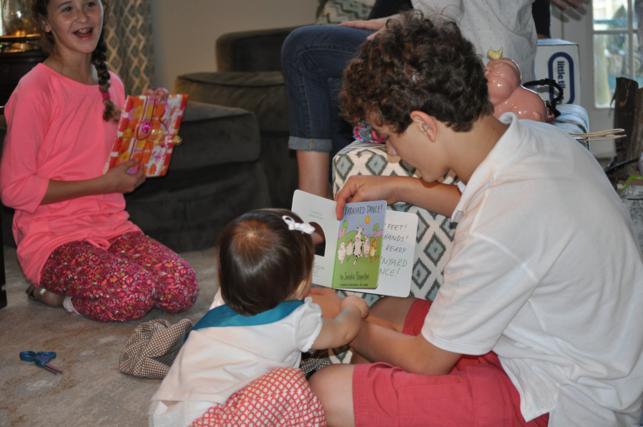 reading with wyatt