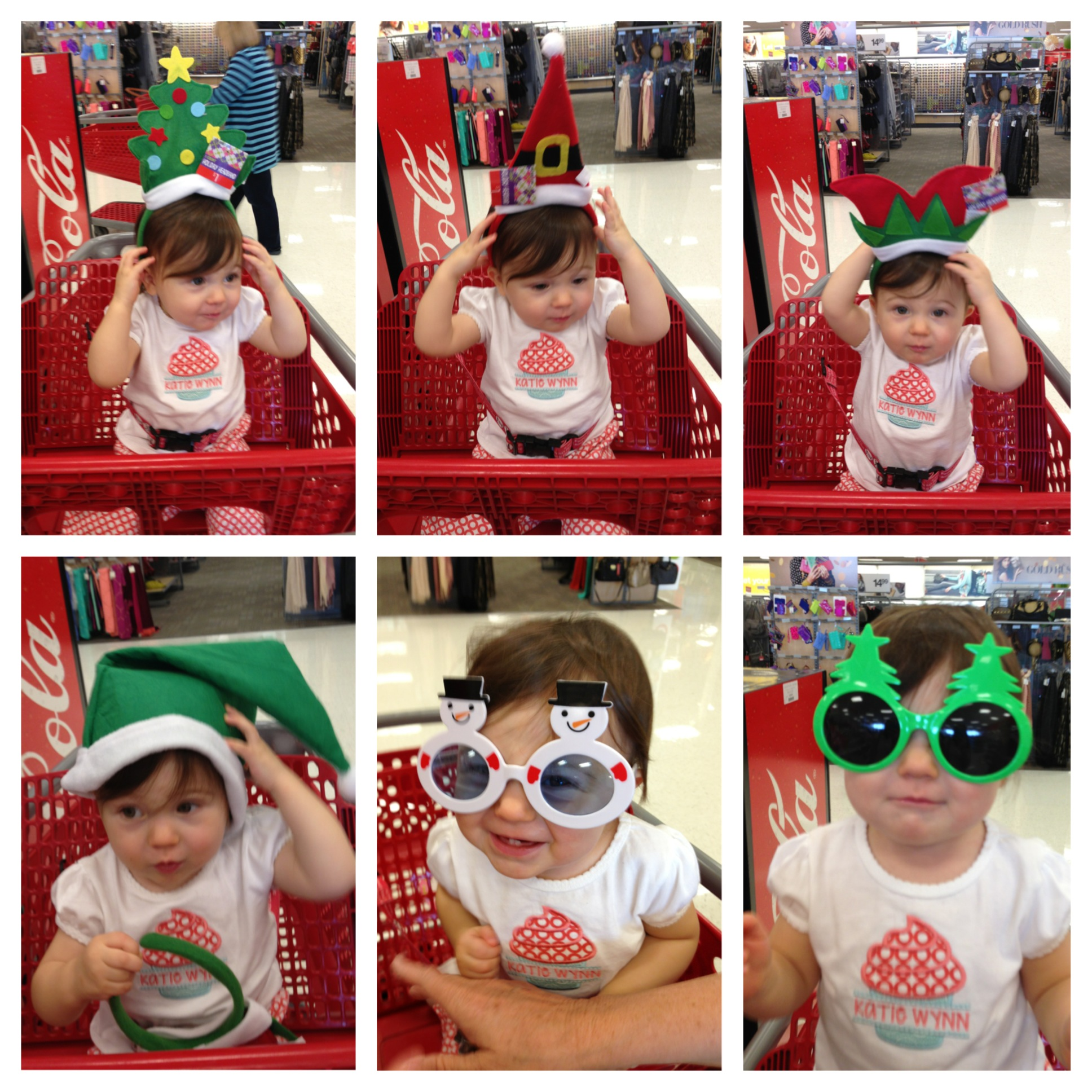 Holiday headgear at Target!