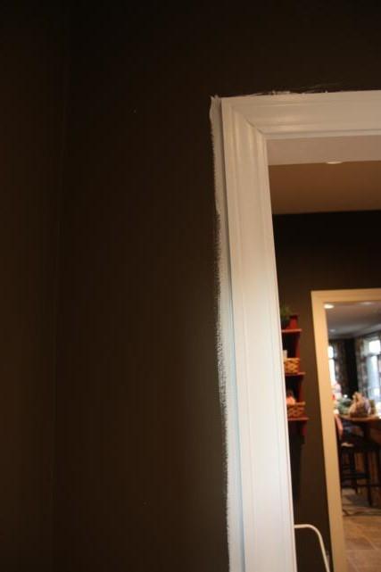 trim painted