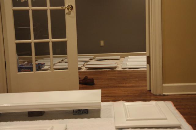 doors and shelves