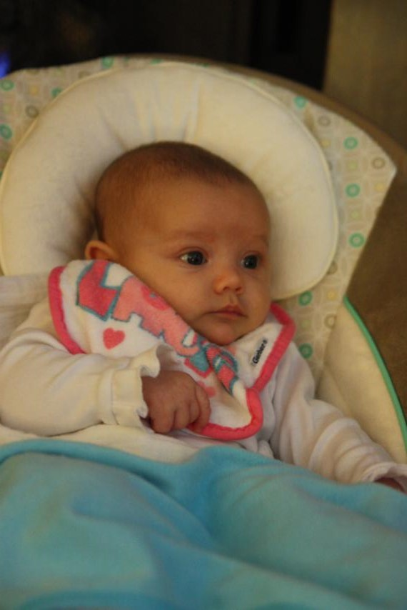 Jentri is the newest addition to the family. She was just 6 weeks old when we were there!
