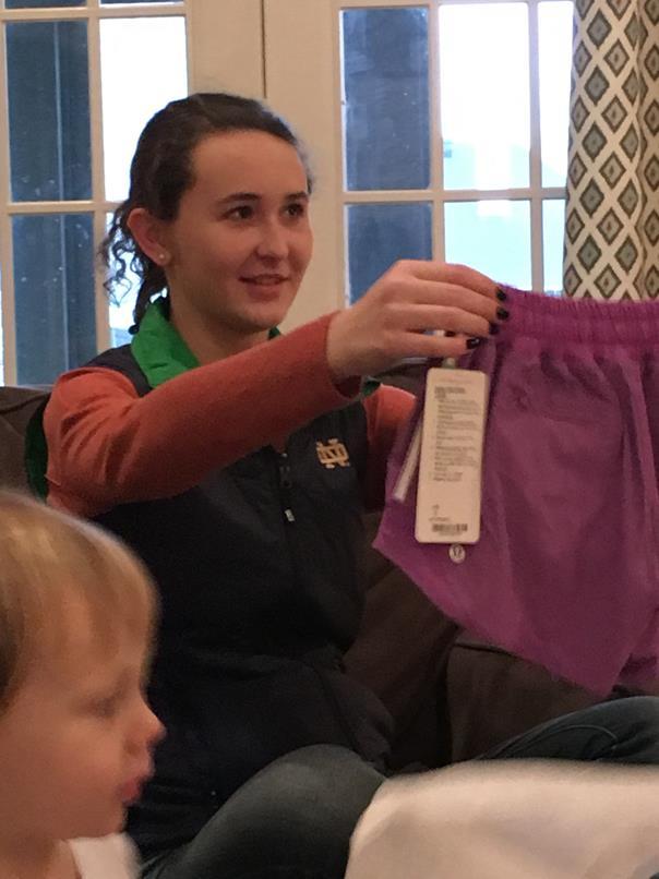 Wear: Lululemon shorts