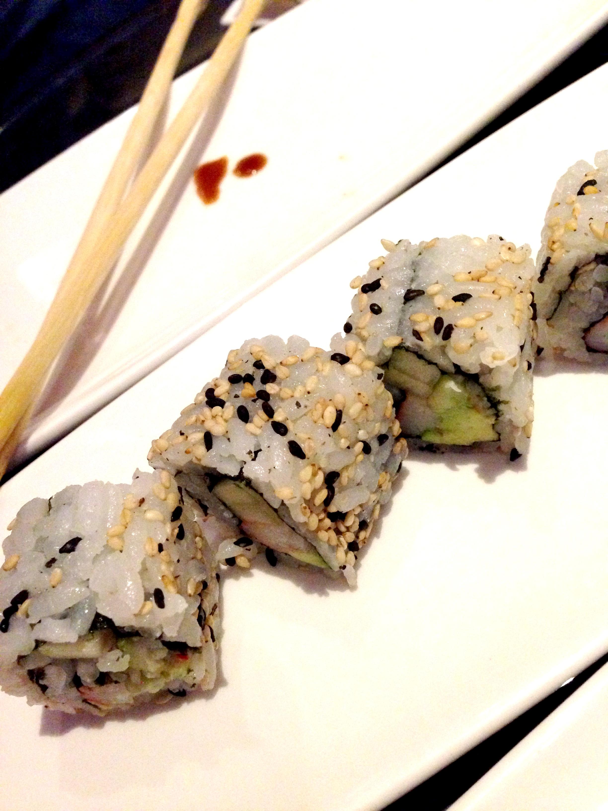 Sushi at the Intercontinental