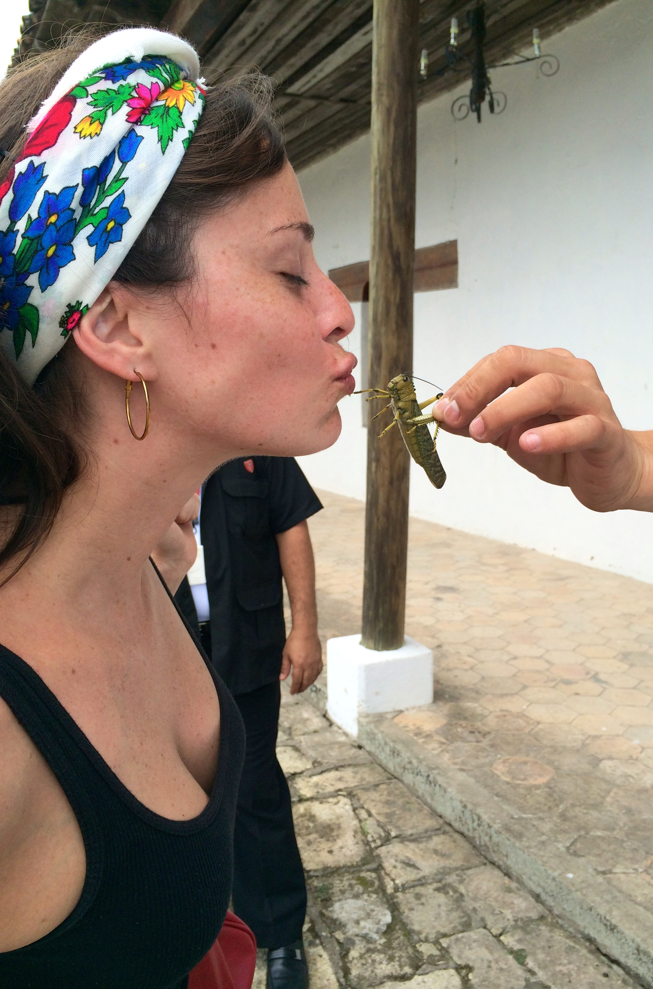 Mariana and a Langosta Valadora