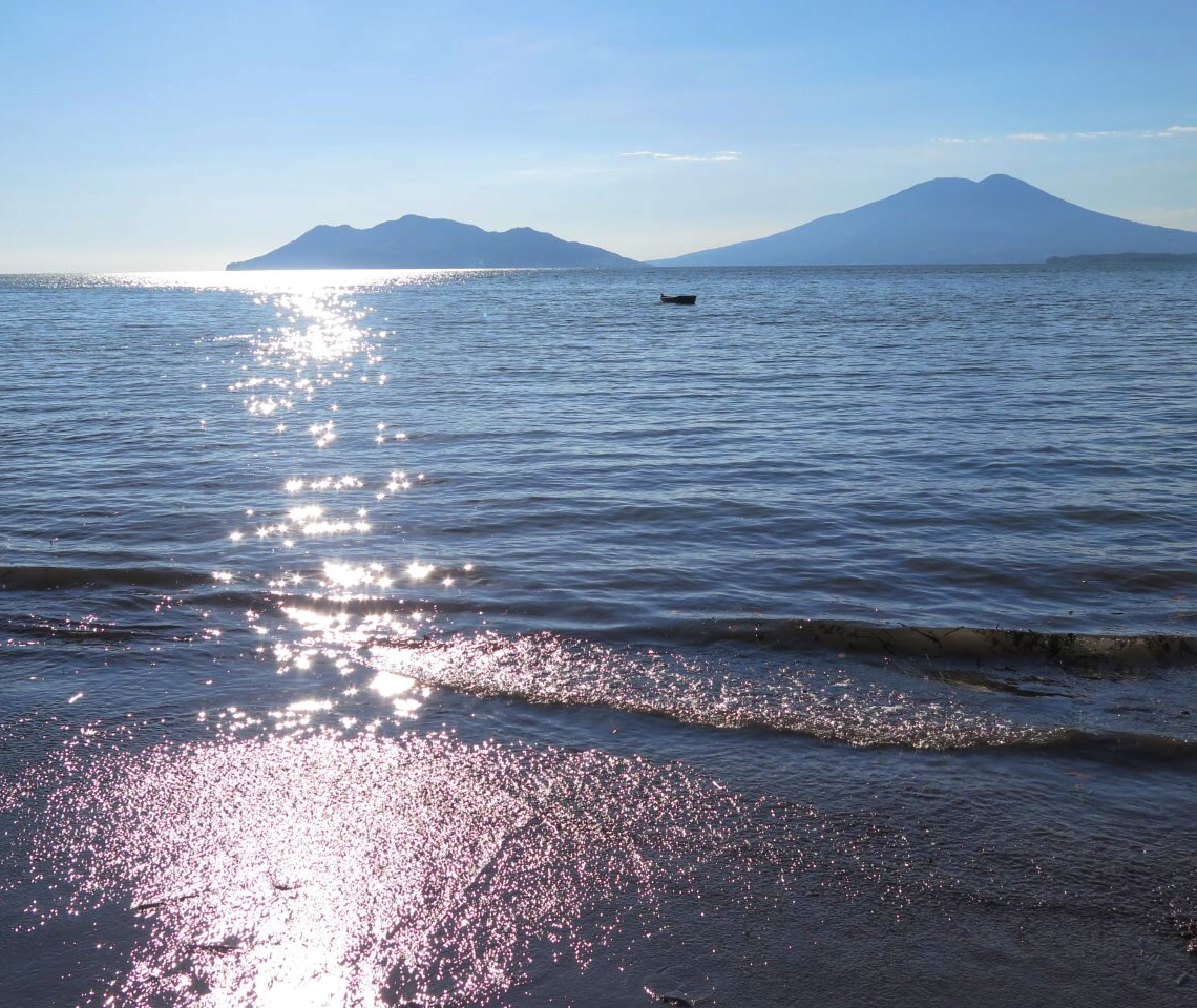Distant Volcanoes