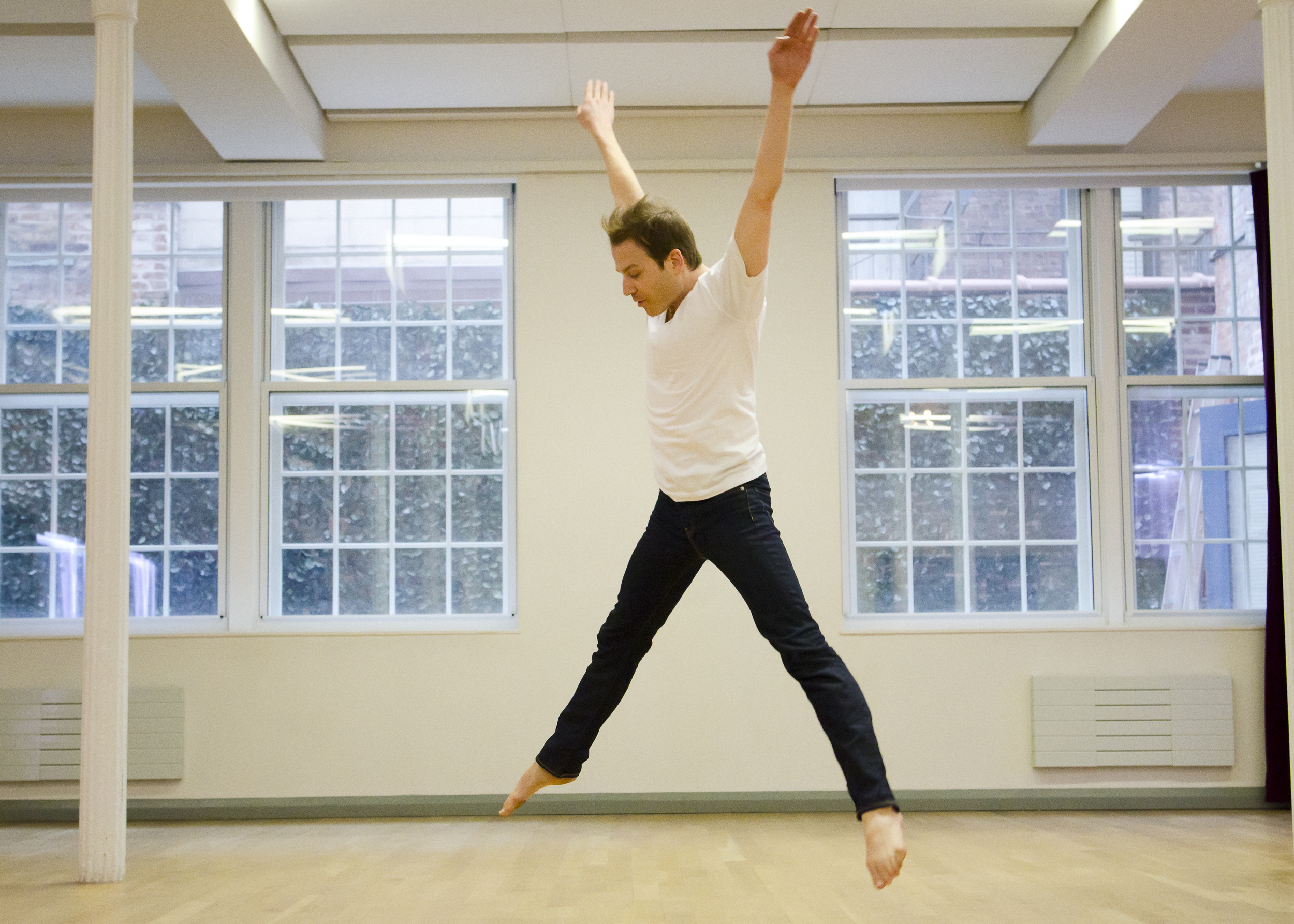 """MARROW  """"imaginative and compelling""""  Oberon's Grove   Solo with  poems   Length: 25 minutes  Premiere: March 17, 2016, The Center, New York City  Dancer: Ian Spencer Bell  Photo: Kyle Froman  Kahn & Selesnick  photos    Video clip"""