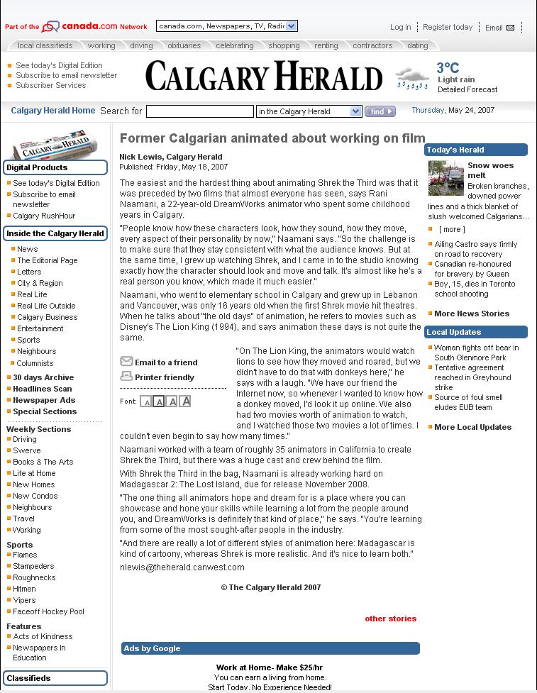 Newspaper Mention Calgary Herald.jpg