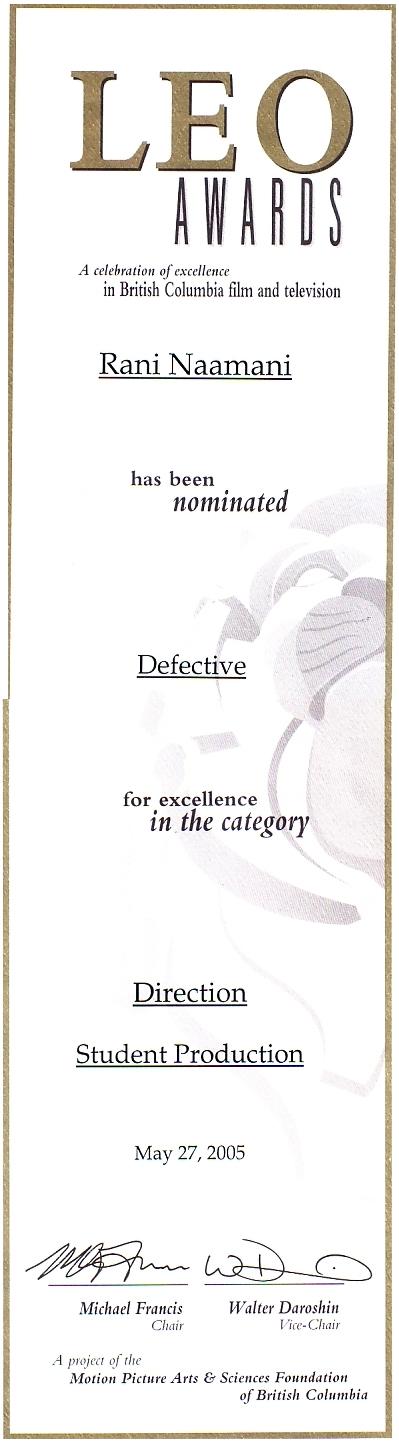Award Certificate from Leo Awards 1.jpg