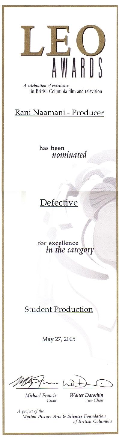 Award Certificate from Leo Awards 2.jpg