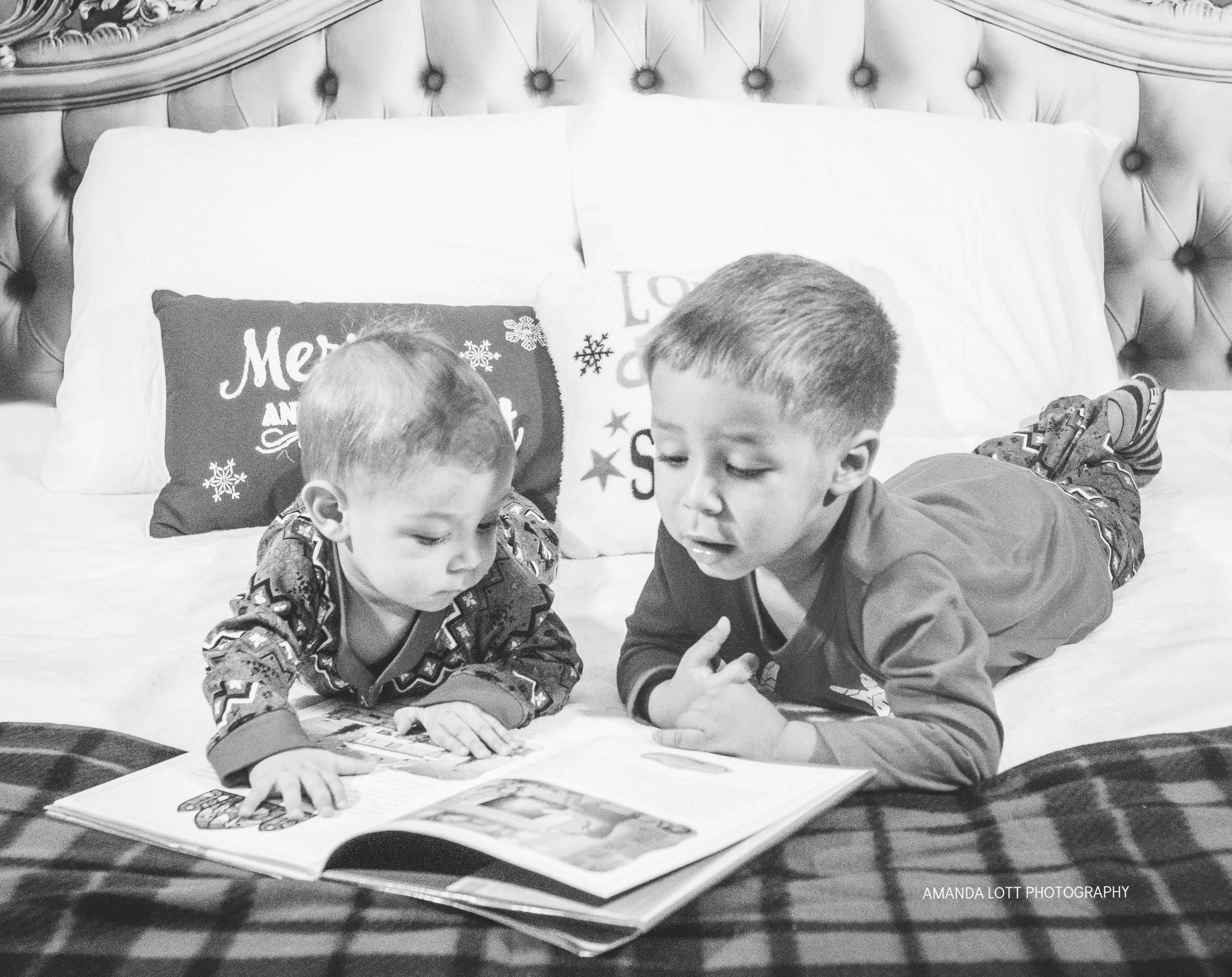 Brothers Christmas Story Time