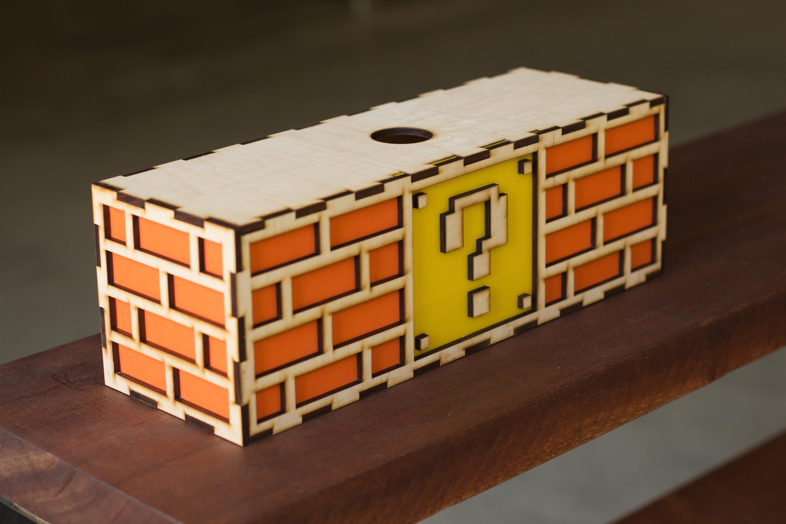 Nintendo Mario Brick lamp 1