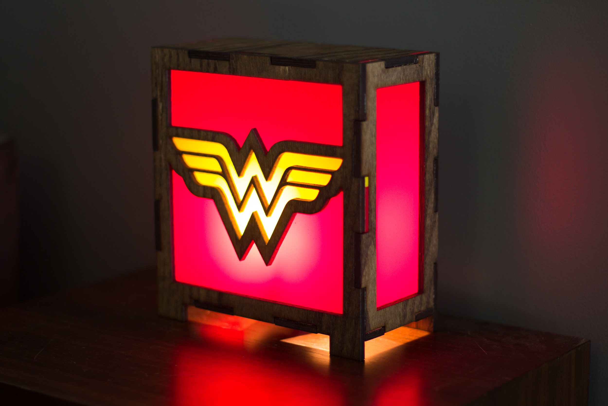 Wonder woman lamp 2