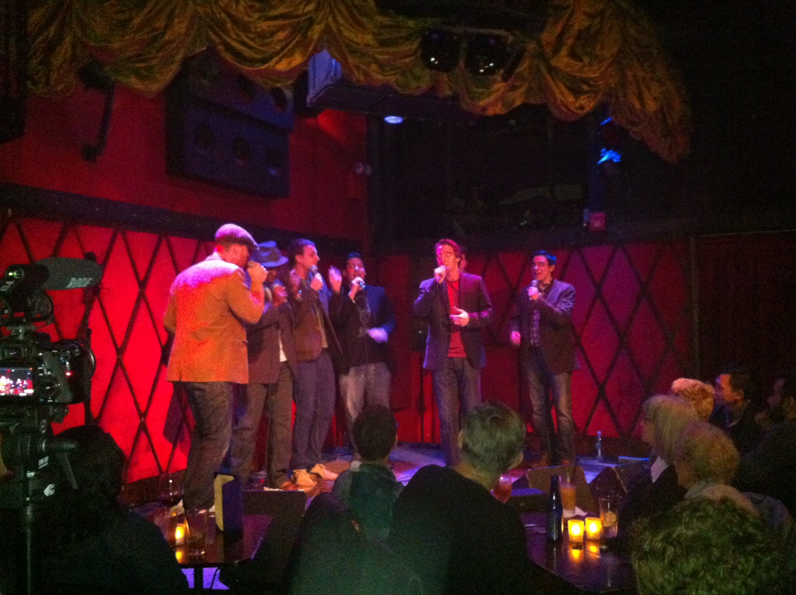 Performing at Rockwood Music Hall (October 26, 2013)