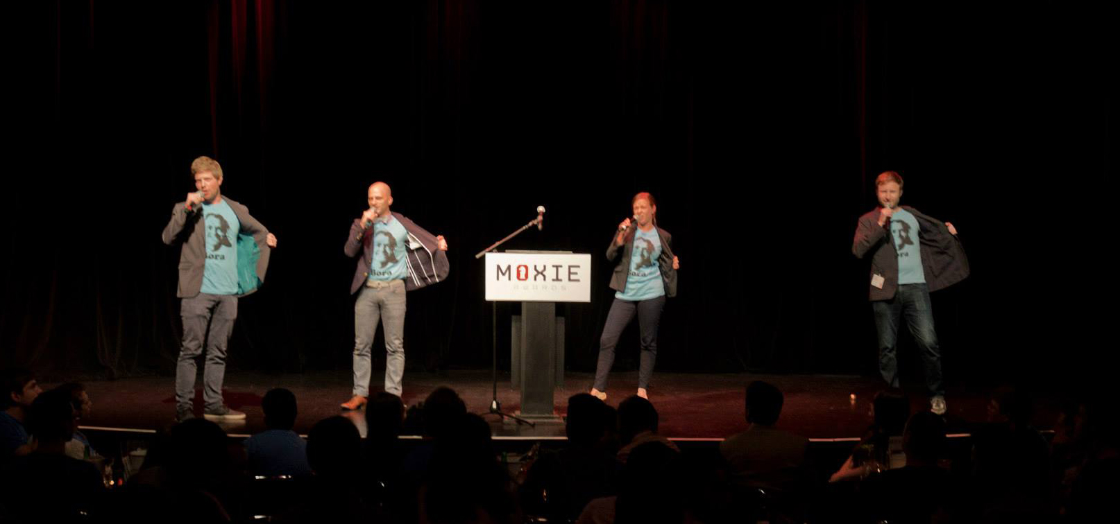 The B.O.B Crew was honored to MC the  2013 Moxie Awards .