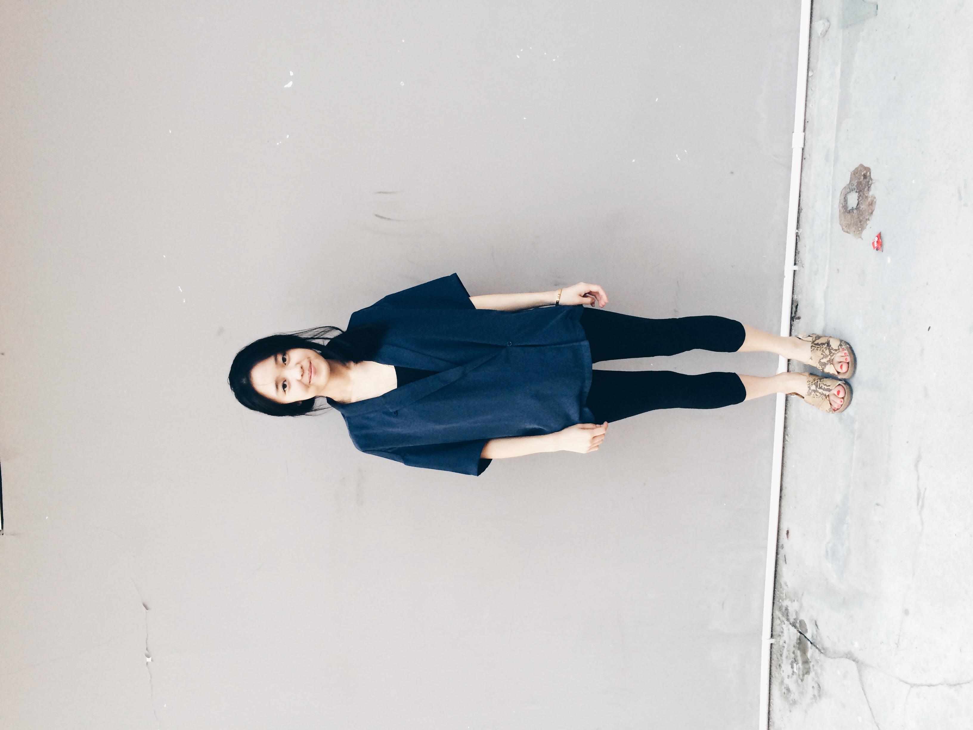 Monki Blazer, H&M Tank, Zara Sandals