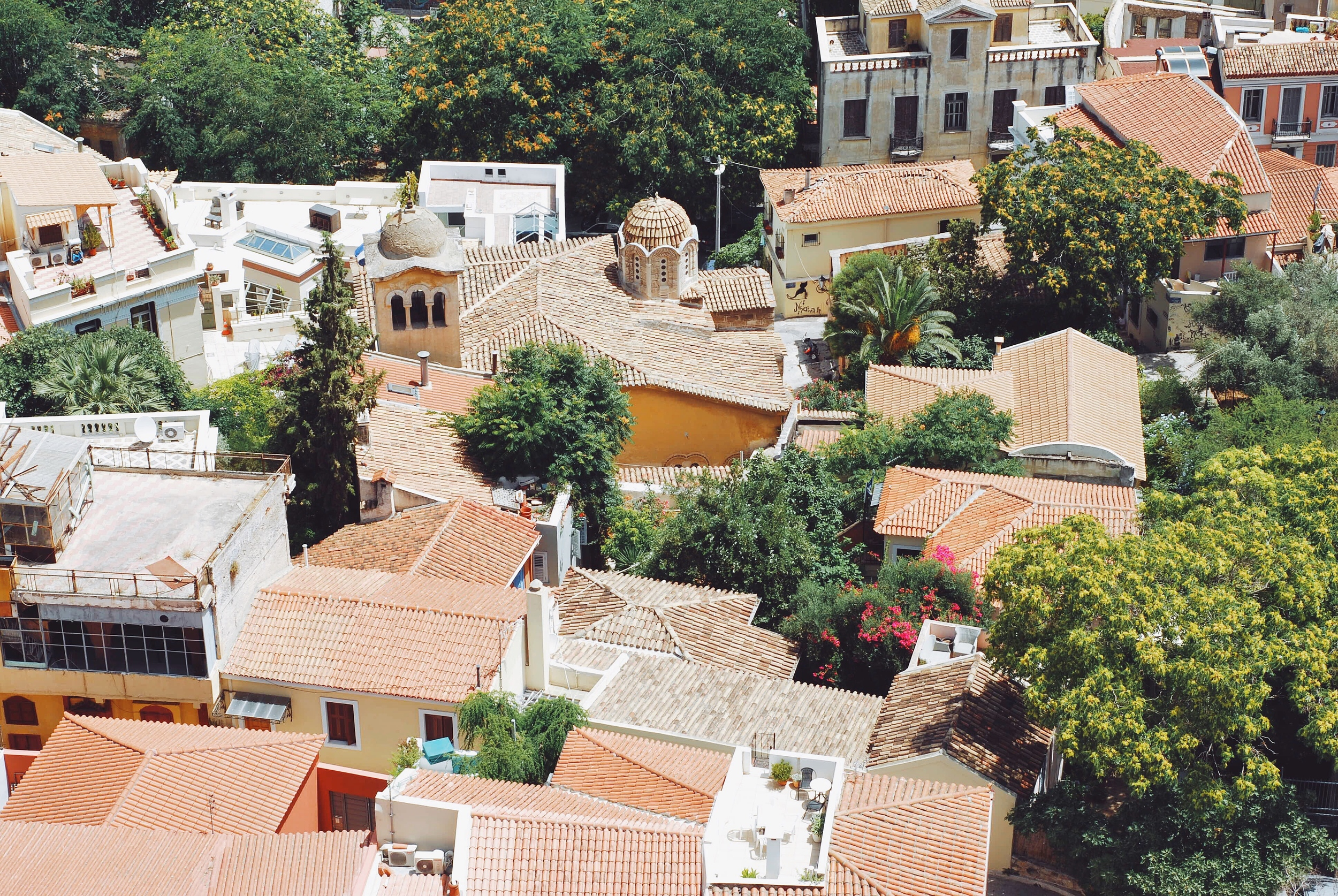 Athens from above.