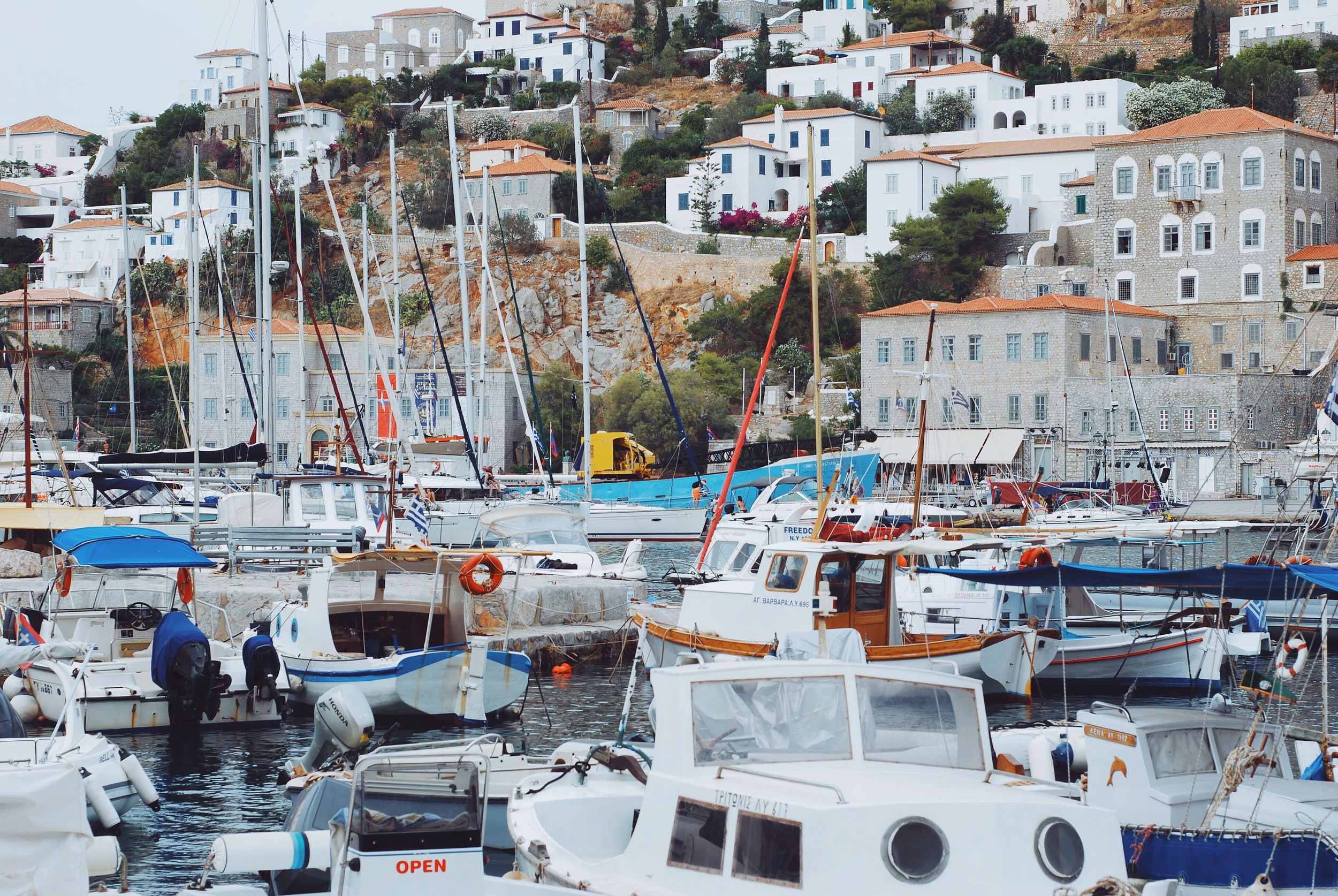 Part II: Hydra Island. One hour from Athens by ferry.