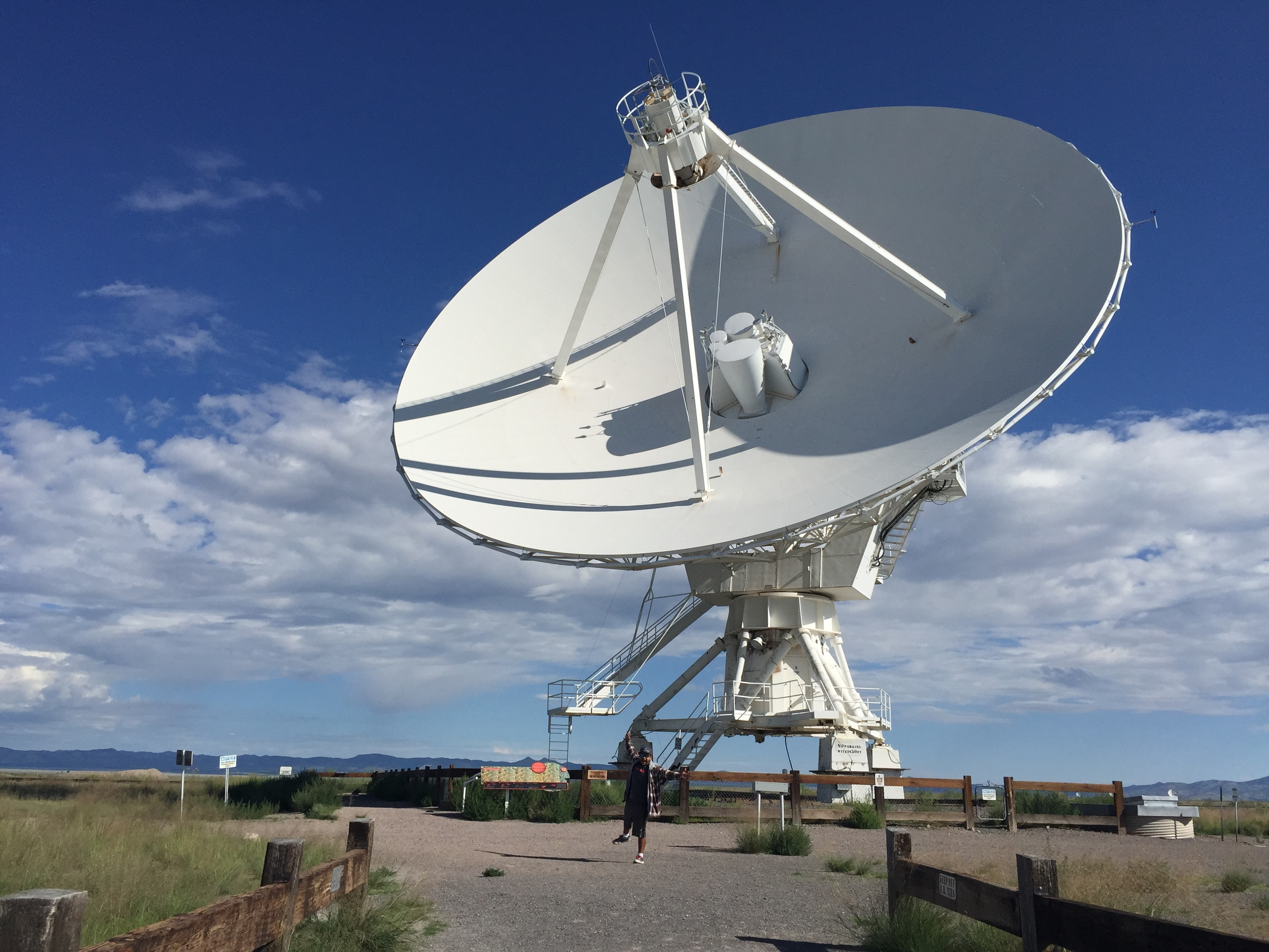 The Very Large Array, at least one part of it.