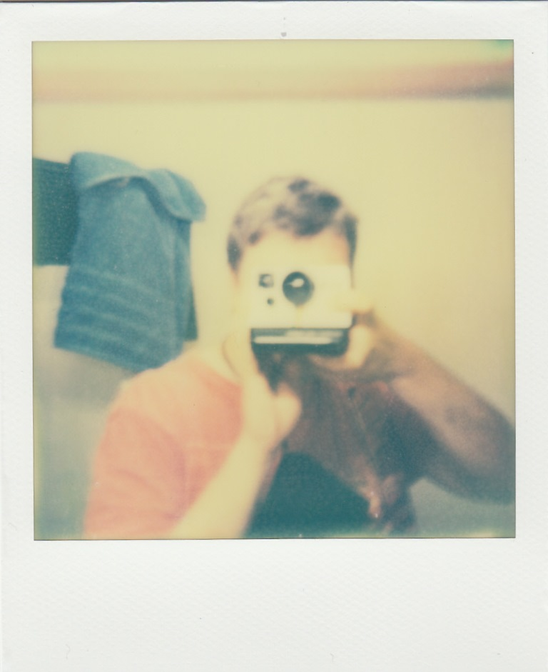 Self portrait - I took this in the bathroom of a YHA in Hobart, Tasmania