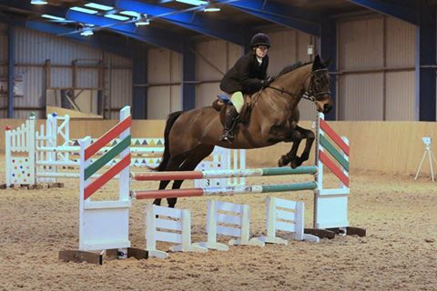February 2017- Mandy Saunders team show jumping at Brooksby.