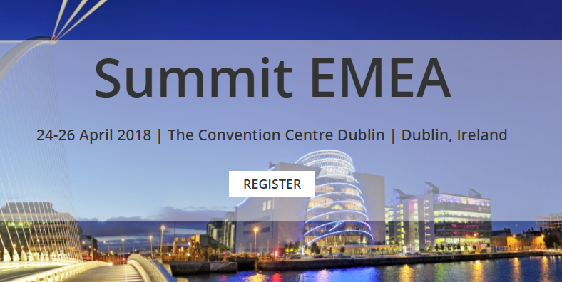 Join your Dynamics 365, AX & CRM User Group Community in Dublin!  Summit EMEA – It's where you join your User Group community to learn, network & engage.  Summit EMEA is the User Group conference that brings Microsoft Dynamics 365, AX and CRM users, industry experts and software development vendors together to discuss important issues, to learn about product updates, and to find genuine solutions that suit your business needs.  Attendees will have direct access to:   Exceptional, quality content: Receive technical and functional training for all product versions in a focused environment that you can utilize 365 days a year   Engaging, organized networking opportunities: Countless opportunities to create lasting relationships by connecting and networking with user group peers, partners and Microsoft team members   Access to experts: Learn from and connect with Dynamics experts on a personal basis including: MVPs, experienced fellow users, Microsoft Engineers and Microsoft Support Technicians  Don't miss your chance to save with the Early Bird discount.  Register now and save with early bird pricing until 31 January.   REGISTER   My objectives were to learn more and have the opportunity to network and meet fantastic people - all three of these were achieved with the fantastic, well-structured agenda, the time given to network and interact with subject matter experts and to talk and get to know liked minded people within the industry and the CRM Community.  D365UG/CRMUG Summit EMEA 2017 Attendee