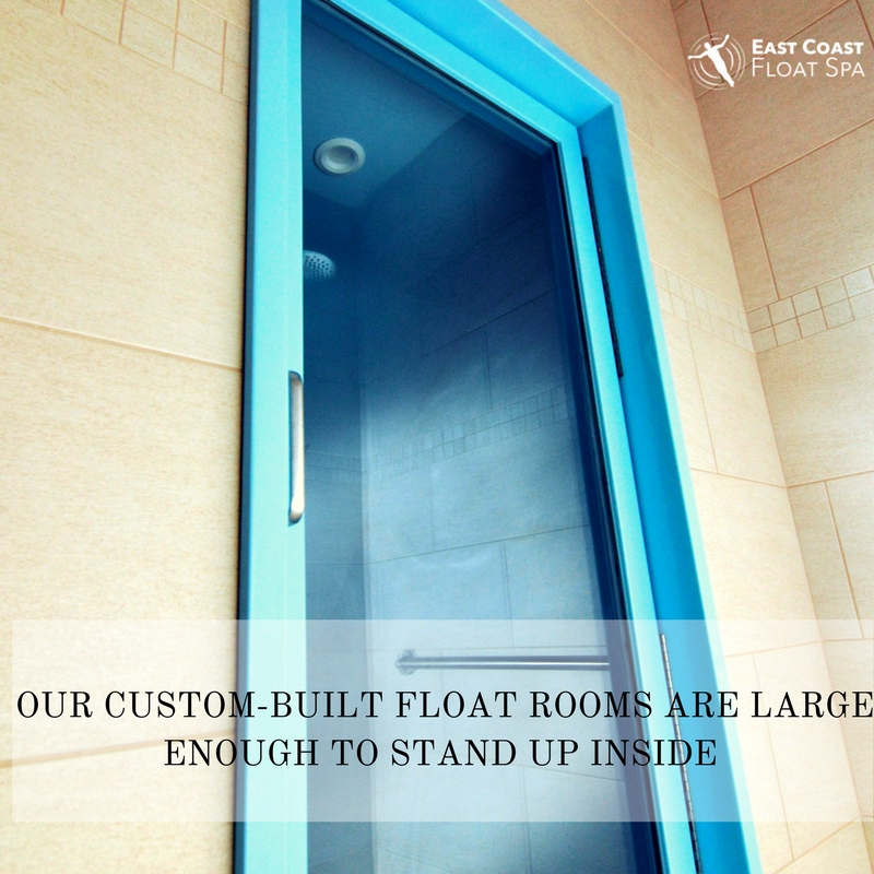 Custom-Built Float Rooms Large Enough to Walk Into - Outside Float Room Door.jpg