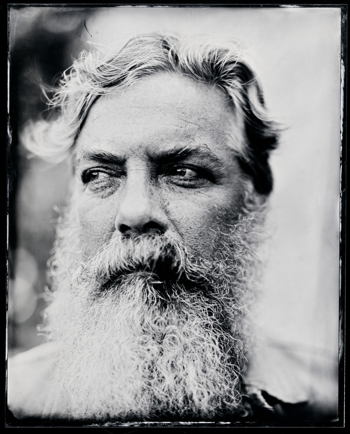 Andy Washington, tintype, 8x10.
