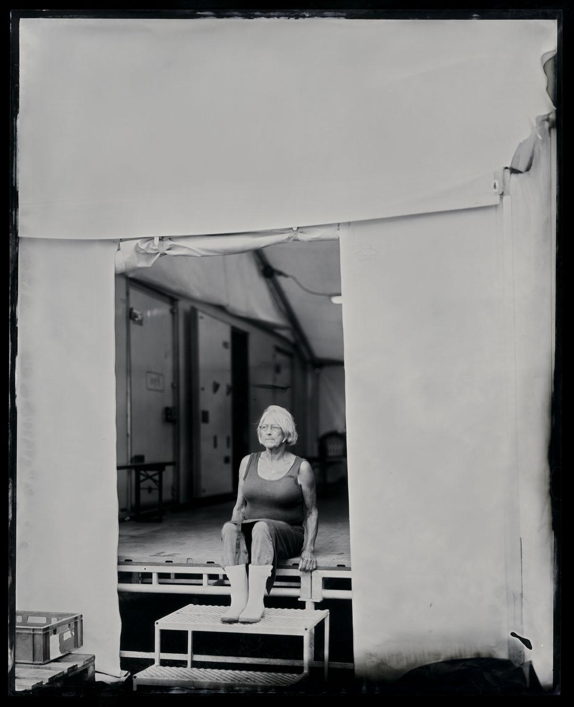 Hanne, tintype, 8x10.