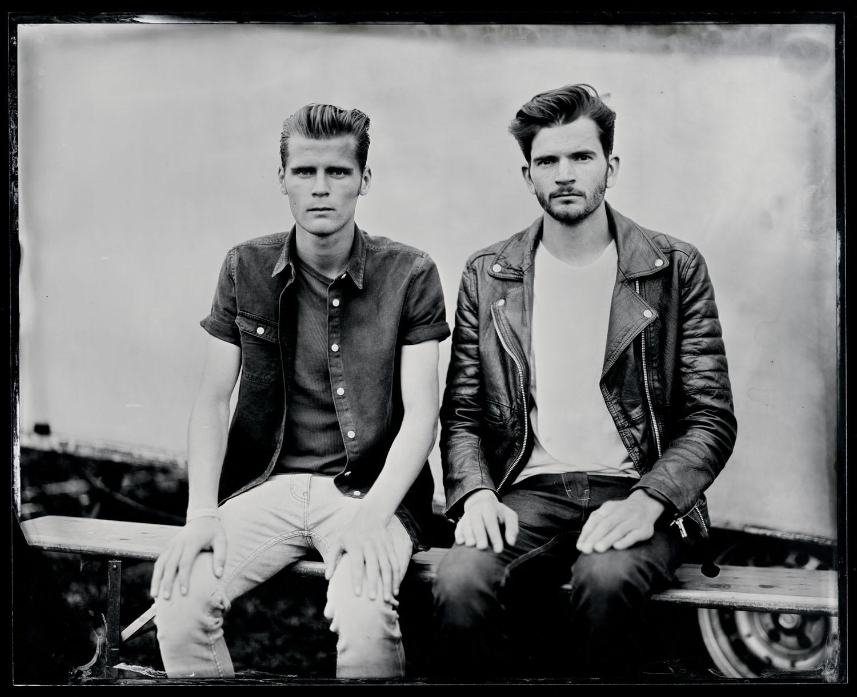 Hudson-Taylor, tintype, 8x10.