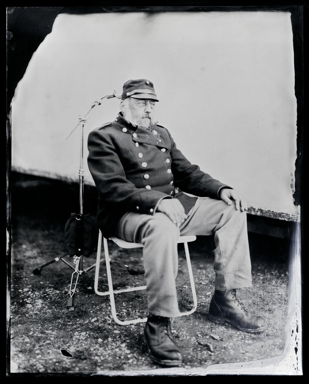 Jørn Jessen, tintype, 8x10.