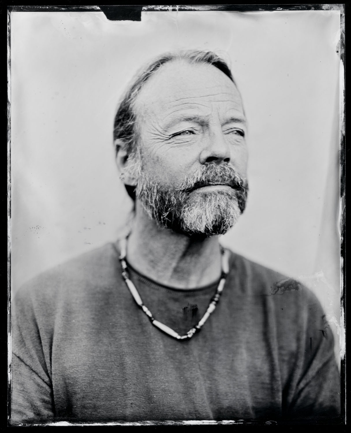 Kevin Welch, tintype, 8x10.