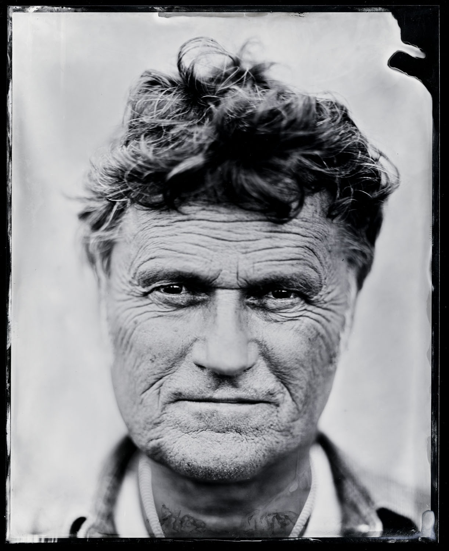 Poul Krebs, tintype, 8x10.