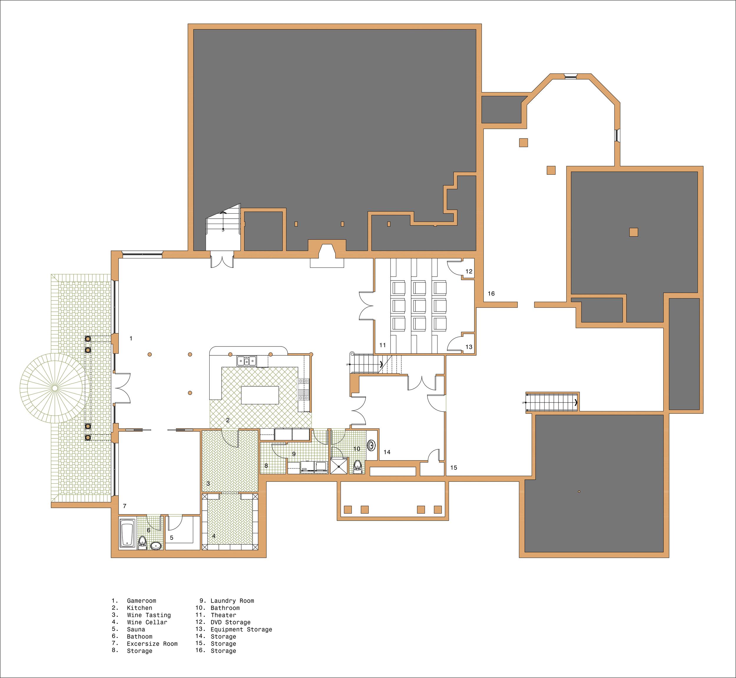 Proposed Basement Plan