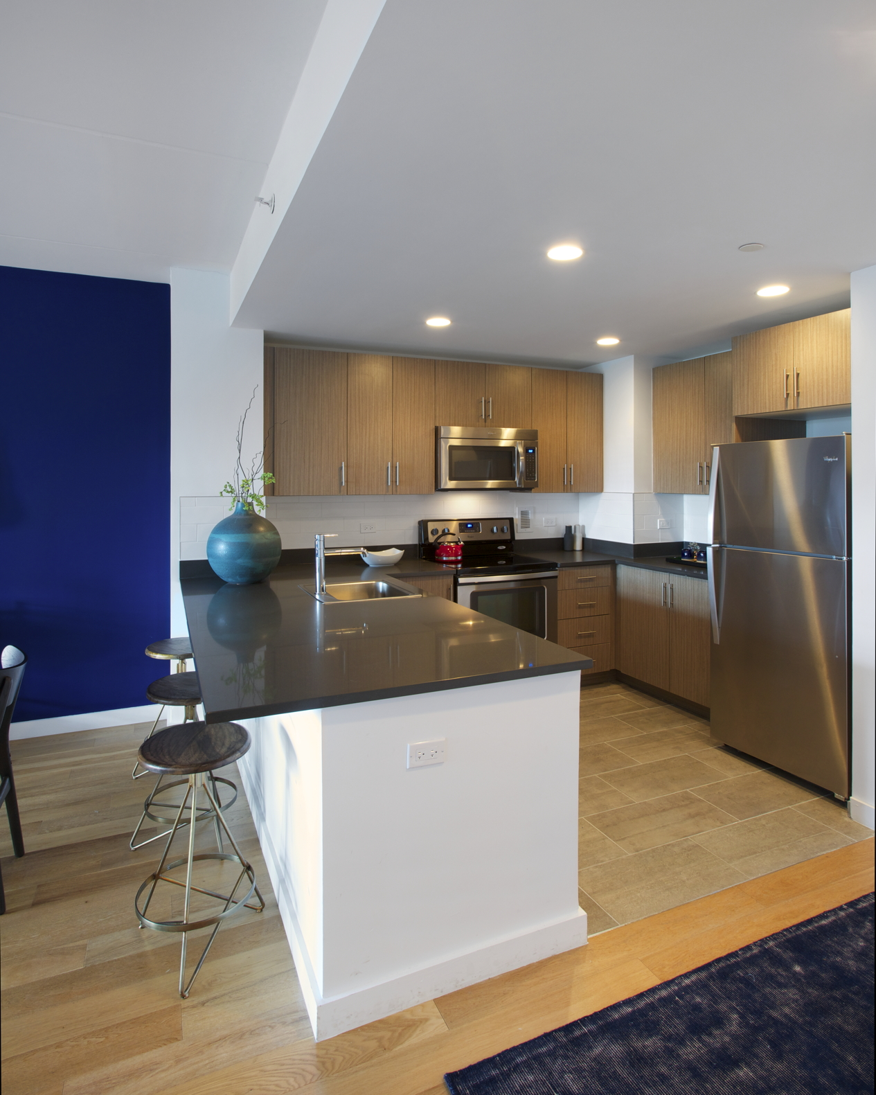 Typical apartment kitchen - Photo courtesy of client