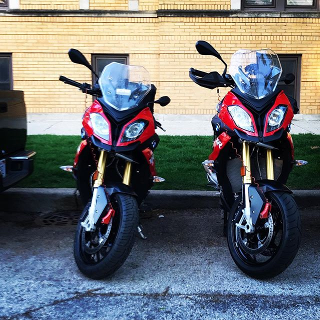 And then there was 2!! #bmwmotorrad #bmwmotorcycle #makelifearide