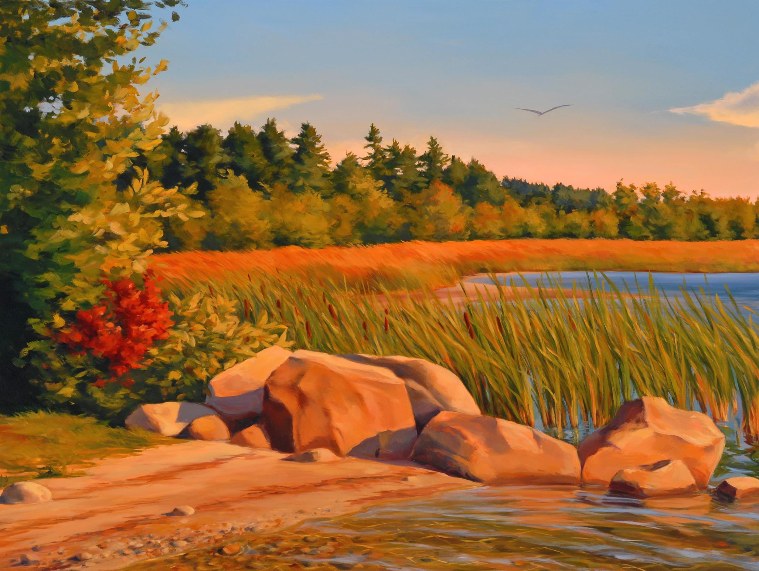 Raymond Beach Triptych #1 Detail