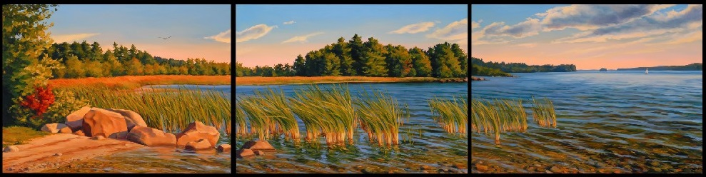 Raymond Beach Triptych