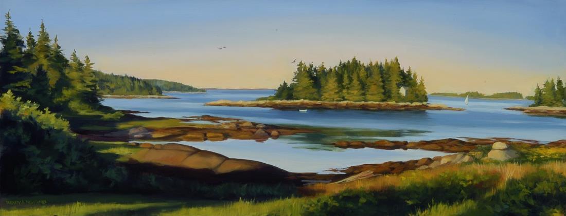 Dawn at Old Harbor