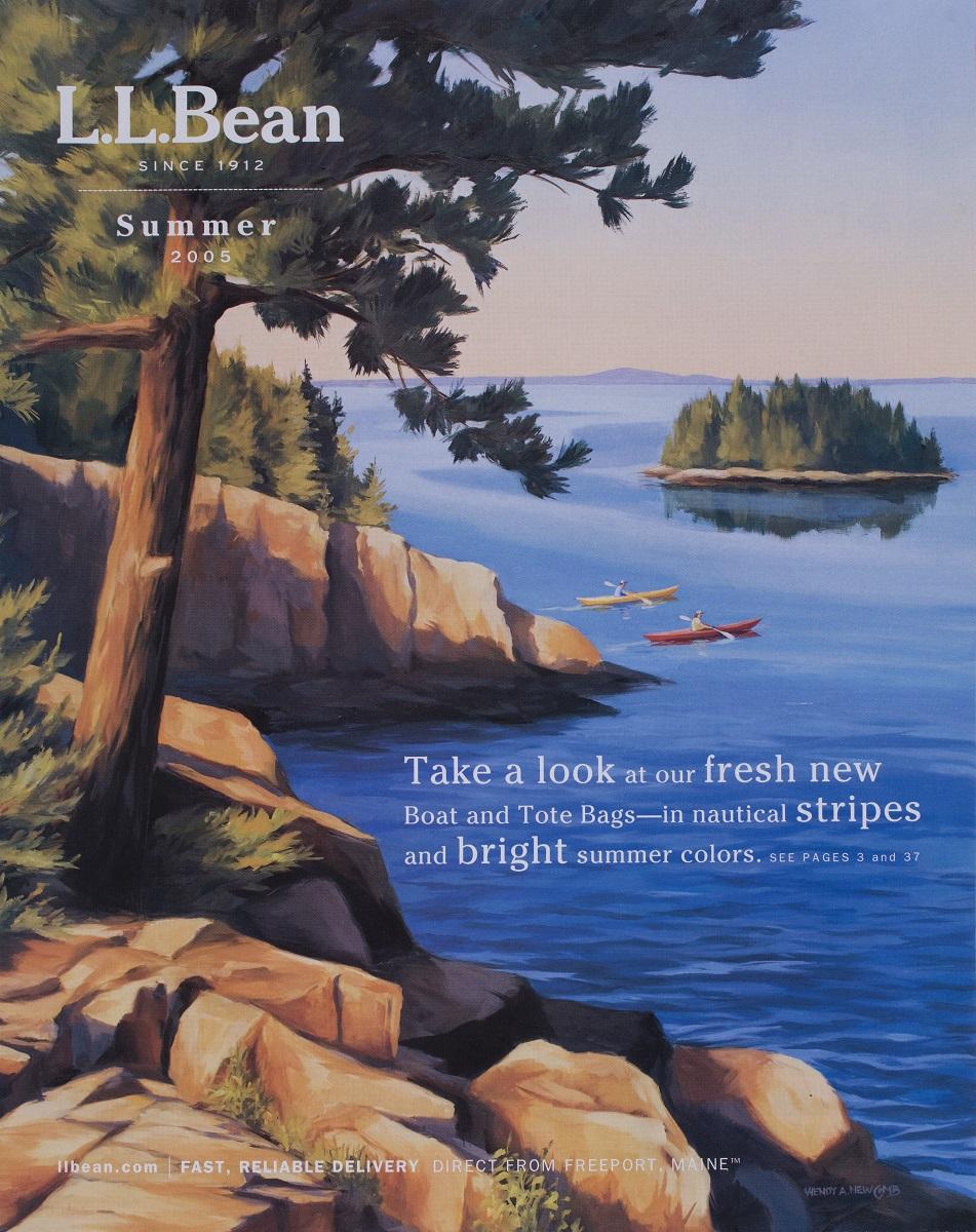 L.L. Bean Cover  Summer Catalog 2005