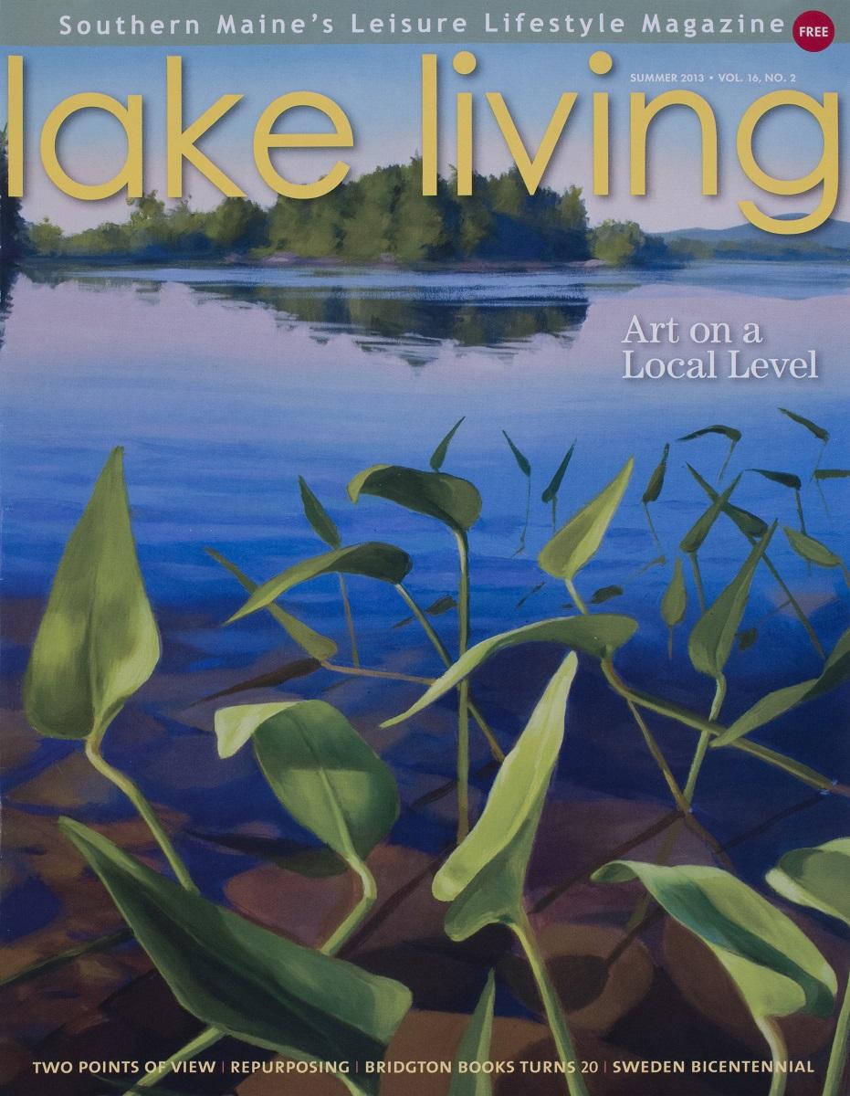 Lake Living Cover  Summer 2013