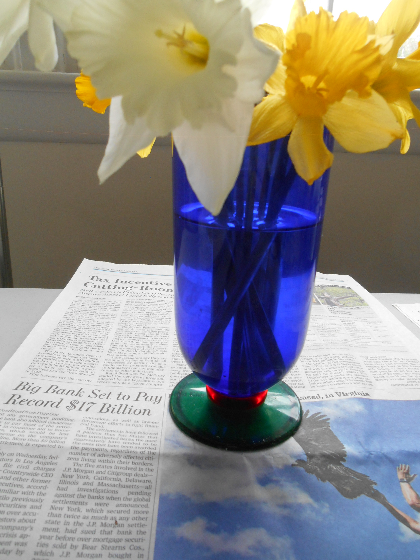 Working on daffodil series for a month .... inhaling the golden yellow!