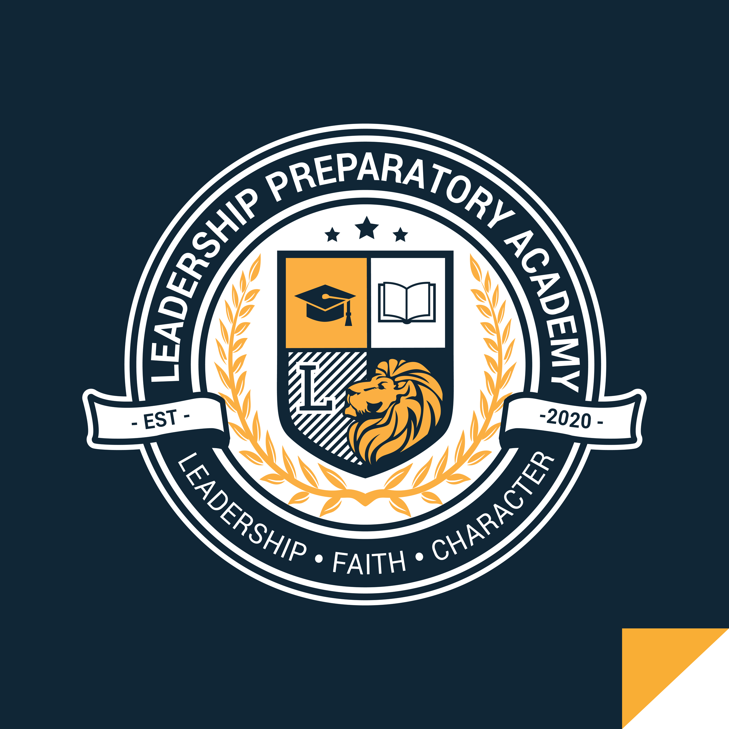 Leadership Preparatory Academy  Logo Redesign and Website