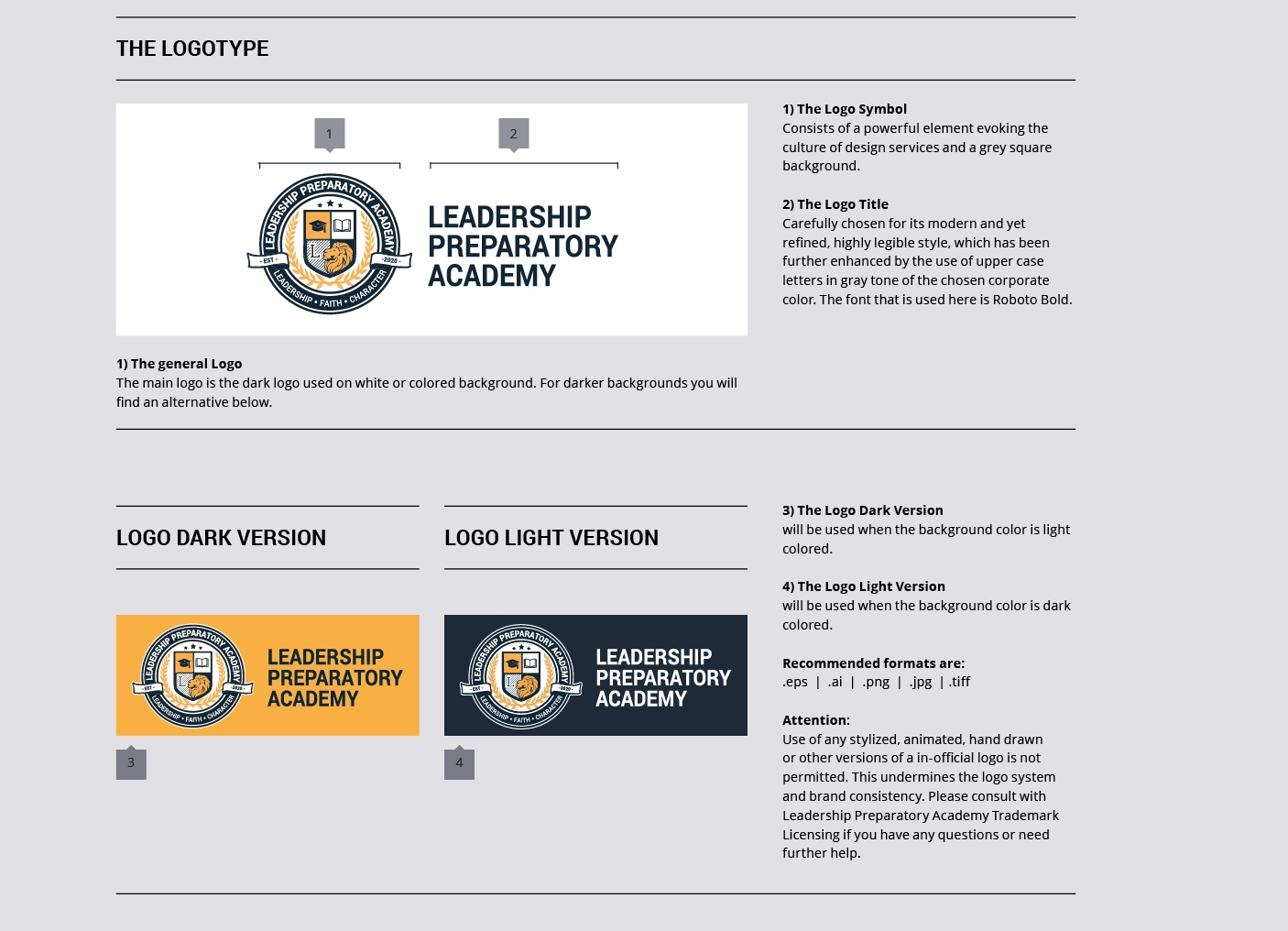 Leadership Preparatory Academy  Identity System   See More