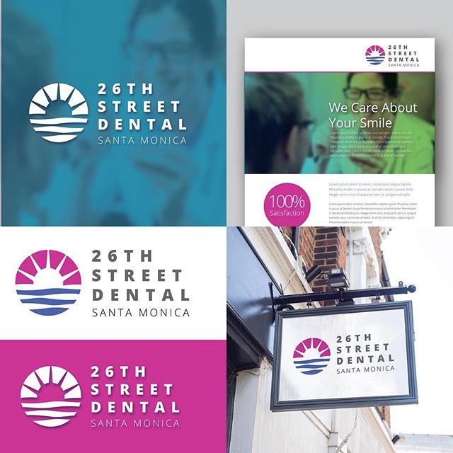 A fun recent concept for a dental office in Santa Monica. . . . #graphicdesign #branding #brandidentity #print #logo #business #dentist #dental #marketing #signage #documentowls