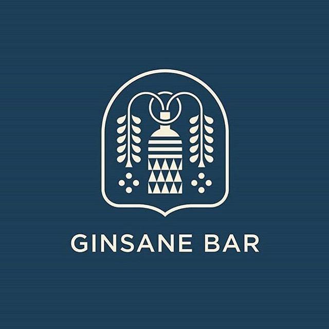 Ginsane Bar by @brad_cuzen . . . #logo #mark #ginsane #bar #graphicdesign #print #brand #branding #brandidentity #marketing #illustrator #shapes #geometric #business #food #documentowls